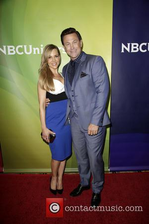 Julie Benz and Grant Bowler - Celebrities pose at 2014 NBCUniversal Summer Press Day at The Langham, Hunington Hotel and...