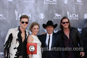 Florida Georgia Line and Clay Walker - Alliance for Childrens Rights - Beverly Hills, California, United States - Tuesday 8th...