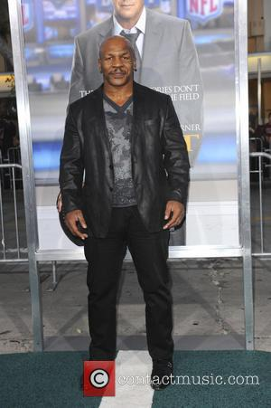 Mike Tyson - Film Premiere of Draft Day - Los Angeles, California, United States - Tuesday 8th April 2014