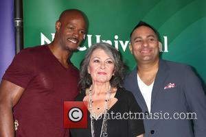 Keenen Ivory Wayans, Roseanne Barr and Russell Peters