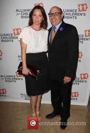 Kelli Williams and Willie Garson