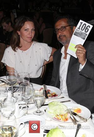 Kelli Williams and Ajay Sahgal