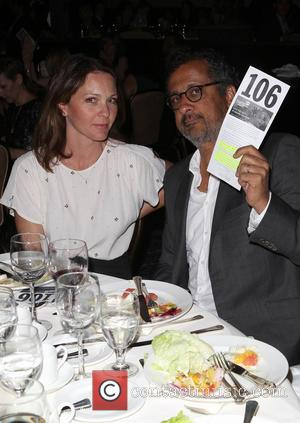 Kelli Williams and Ajay Sahgal - The Alliance For Children's Rights 22nd Annual Dinner_Inside - Beverly Hills, California, United States...