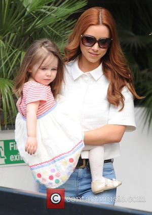 Una Healy and Aoife Belle - Celebrities at the ITV studios - London, United Kingdom - Wednesday 9th April 2014