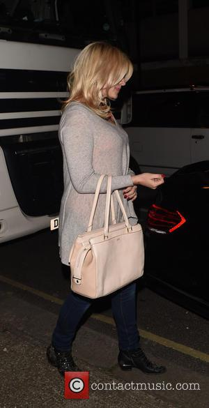 Holly Willoughby - Celebrities leaving Riverside Studios after recording ITV comedy panel game 'Celebrity Juice' - London, United Kingdom -...