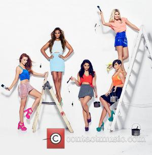 Una Healy, Una Foden, Rochelle Wiseman, Rochelle Humes, Vanessa White, Frankie Sandford, Mollie King and The Saturdays