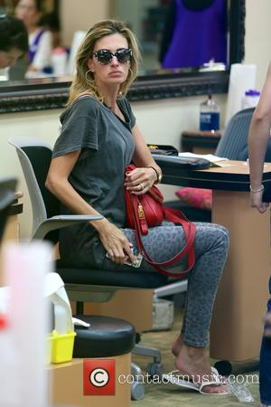 Rhea Durham - Rhea Durham at a nail salon in Beverly Hills having a manicure, pedicure and massage. On leaving...