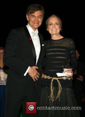 Dr. Mehmet Oz and Gloria Steinem