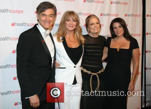 Dr. Mehmet Oz, Goldie Hawn, Gloria Steinem and Lisa Oz