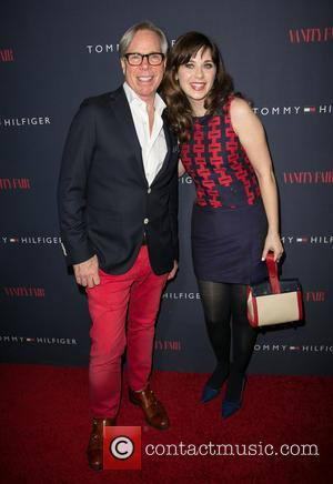 Tommy Hilfiger and Zooey Deschanel - Zooey Deschanel and Tommy Hilfiger debut collection launch held at The London Hotel -...