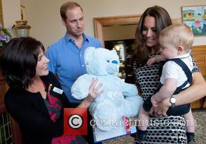 Prince William, Duke Of Cambridge, Catherine, Duchess Of Cambridge and Prince George