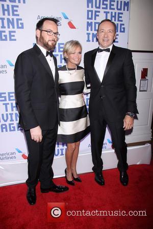 Dana Brunetti, Kristin Chenoweth and Kevin Spacey