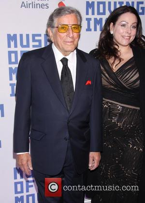 Tony Bennett and Joanna Benedetto - American Museum of Moving Image Honors Kevin Spacey held at 583 Park Avenue -...