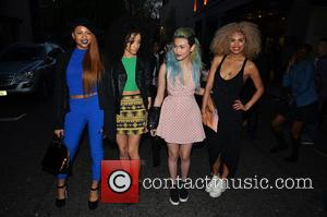 Neon Jungle - Celebrities arriving for the James Jog on 2 Cancer Research dinner at the Kensington Roof Gardens -...