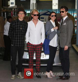 Lucy Watson, Jamie Laing, Mark-francis Vandelli and Ollie Proudlock