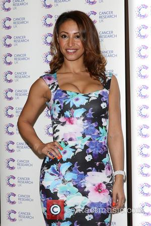 Amelle Berrabah - 'James' Jog-on to Cancer' fundraiser in aid of Cancer Research UK held at The Kensingron Roof Gardens...