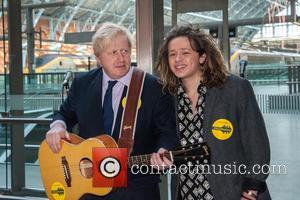 Boris Johnson and Luke Friend