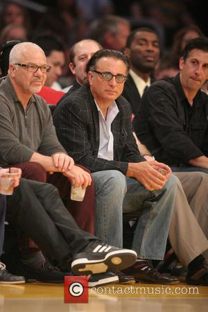 Andy Garcia - Celebrities watching the Los Angeles Lakers v Houston Rockets NBA basketball game at the Staples Center. Houston...