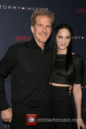 Matthew Modine and Ruby Modine - Celebrities attend the Zooey Deschanel for Tommy Hilfiger Collection launch event at The London...