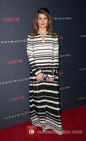 Nia Vardalos - Celebrities attend the Zooey Deschanel for Tommy Hilfiger Collection launch event at The London Hotel. - Los...