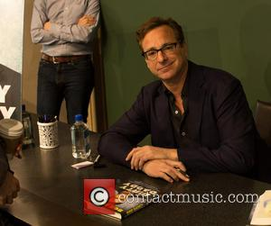 Bob Saget - Bob Saget promotes and signs copies of his book 'Dirty Daddy' at Barnes and Noble in the...