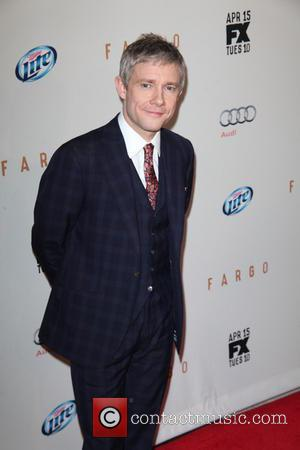 Martin Freeman - FX Networks Upfront Premiere Screening Of 'Fargo' at SVA Theater -  Arrivals - New York City,...