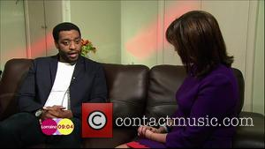 Chiwetel Ejiofor and Lorraine Kelly