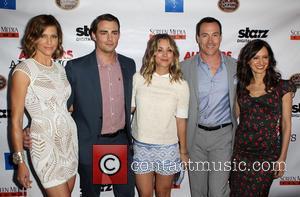Tricia Helfer, Jonathan Bennett, Kaley Cuoco-Sweeting, Chris Klein and Charlene Amoia -