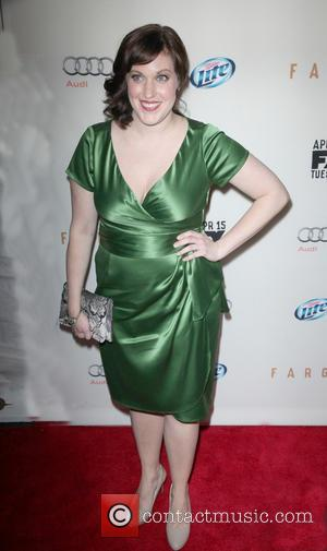 Allison Tolman - FX Networks Upfront Premiere Screening Of 'Fargo' at SVA Theater - Arrivals - New York City, New...