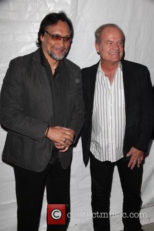 Jimmy Smits and Kelsey Grammer