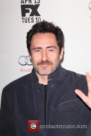 Demian Bichir - FX Networks Upfront Premiere Screening Of 'Fargo' at SVA Theater - Arrivals - NYC, New York, United...