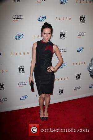 Katie Aselton - FX Networks Upfront Premiere Screening Of 'Fargo' at SVA Theater - Arrivals - NYC, New York, United...