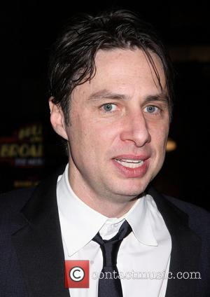 Zach Braff - Opening night after party for the musical Bullets Over Broadway, held at the Metropolitan Museum - Arrivals....