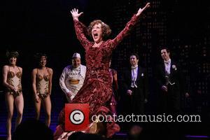 Karen Ziemba - Opening night of the musical Bullets Over Broadway at the St. James Theatre - Curtain Call. -...