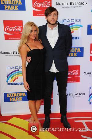 James Arthur and new girlfriend - Radio Regenbogen Award 2014 at Europa-Park. - Arrivals - Rust, Germany - Thursday 10th...