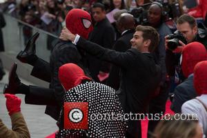 Andrew Garfield - The World  Premiere of 'The Amazing Spider-Man 2' held at the Odeon Leicester Square - Arrivals...