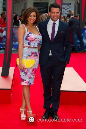 Jessica Wright and Rickie Rayment