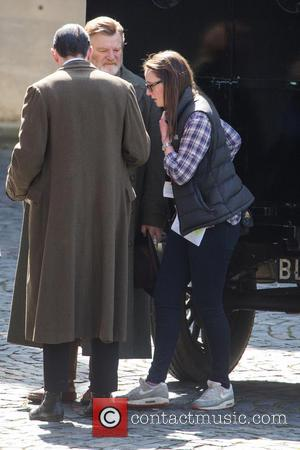 Brendan Gleeson - 'Suffragettes' filming on location in London - London, United Kingdom - Friday 11th April 2014