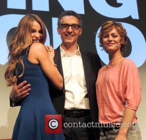 John Turturro, Vanessa Paradis and Sofia Vergara - Press conference for 'Fading Gigolo' held at The Crosby Hotel - New...