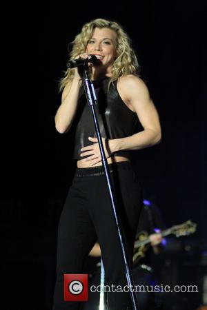 The Band Perry and Kimberly Perry - The Band Perry performing live on stage at Country Thunder - Florence, Arizona,...
