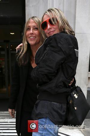 Nicole Appleton and Natalie Appleton