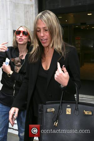 Nicole Appleton and Natalie Appleton - All Saints leaving the BBC Radio 2 studios after appearing on the Chris Evans...