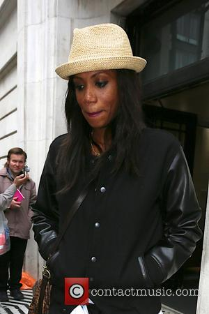 Shaznay Lewis - All Saints leaving the BBC Radio 2 studios after appearing on the Chris Evans show - London,...