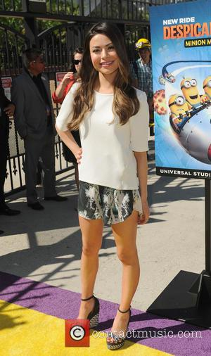 Miranda Cosgrove - Universal Studios Hollywood premieres 3D Ultra-HD animation adventure 'Despicable Me Minion Mayhem' and expansive interactive experience 'Super...