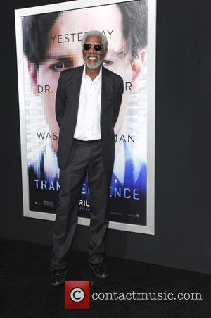 Morgan Freeman - Film Premiere of Transcendence - Los Angeles, California, United States - Friday 11th April 2014
