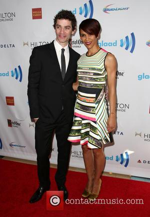James Frain and Marta Cunningham - 25th Annual GLAAD Media Awards - Beverly Hills, California, United States - Saturday 12th...