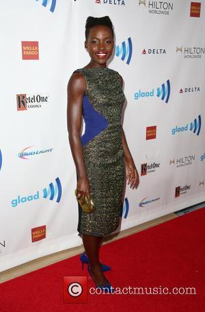 Lupita Nyong'o - 25th Annual GLAAD Media Awards - Beverly Hills, California, United States - Saturday 12th April 2014