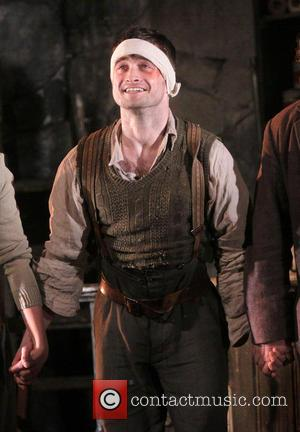 Daniel Radcliffe - First Preview of Broadway's The Cripple of Inishmaan at the Cort Theatre - Curtain Call. - New...