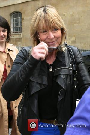 Fern Britton - Fern Britton leaves the BBC Radio 4 studios - London, United Kingdom - Saturday 12th April 2014