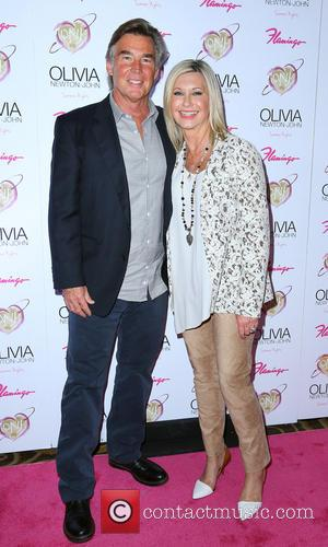John Easterling and Olivia Newton John
